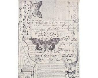 "Melange Tissue Wrap - 12"" X 5 yards - Decorative Collage Tissue - Gift Wrap Tissue Paper - Idea-Ology by Tim Holtz (253093)"