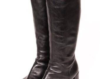 High Heel PLATFORM Boots Women's Size 8