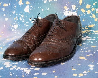 Douglas WINGTIP Dress Shoe Men's Size 10 .5