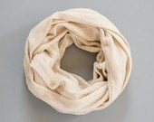 Jersey Knit Infinity Scarf Fashion Accessories Cream Infinity Scarf Cowl Scarf Womens Scarves