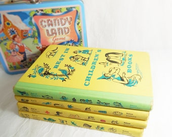 Best in Children's Books Set of 4 - Doubleday - circa 1958