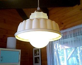 Vintage jelly mould light