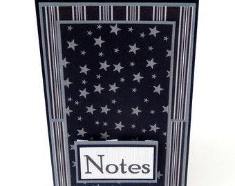 Stars: Mini Spiral Memo Pad- 3 x 5 inches