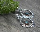 Dangle earrings beaded jewelry handmade beaded earrings bohemian teardrop hoop earrings unique jewelry