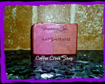 Strawberry Jam natural soap