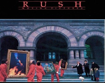 Rush moving pictures   24 x 36 inch poster  