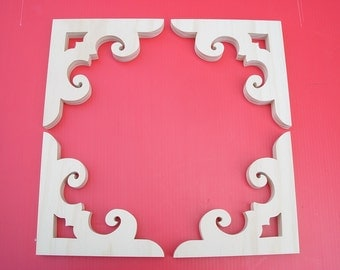 Victorian Gingerbread Screen  Door Brackets ( Four Brackets)