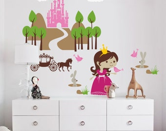 Princess Wonderland Wall Decal