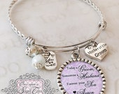 Today a Groom Tomorrow a Husband - Mother of the Groom Bracelet - Personalized BANGLE - Thank You Wedding Parents Gifts - Wedding Keepsake
