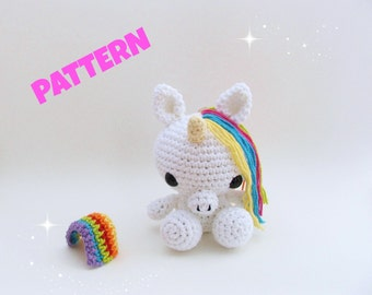 Unicorn Pattern / Christmas Pattern / Black Friday / Christmas Idea / Amigurumi Unicorn / Kid Pattern / Amigurumi Pattern / Crochet Pattern