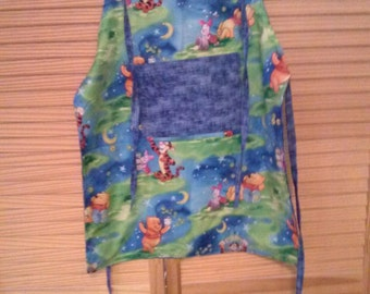 Winnie the Pooh girl's apron.