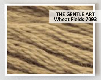 WHEAT FIELDS 7093 : Gentle Art GAST hand-dyed embroidery floss cross stitch thread at thecottageneedle.com