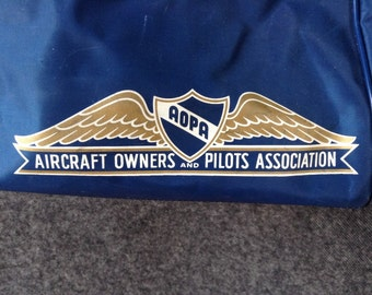 Vintage Aircraft Owners and Pilots Association bag