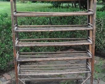 Vintage Factory Rack
