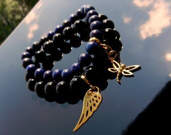 TWO Charm Bracelets Sterling Silver Vermeil