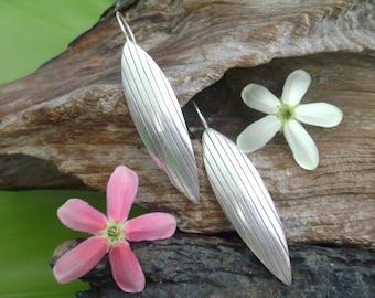 Silver earrings - The Beetle Wing (7)