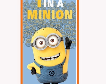 One in a Minion Panel from Quilting Treasures