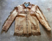 Vintage 1970s Harley Davidson Fringe Leather Jacket