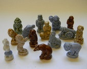 WADE, 15 Different WADE Circus Figurines, Red Rose Tea