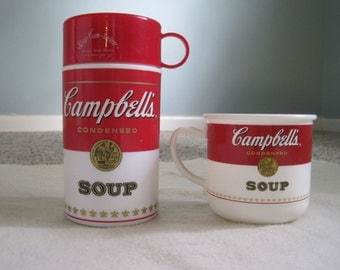 Cambell's Soup Thermos Set
