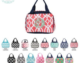 Monogram Insulated Lunch Bag