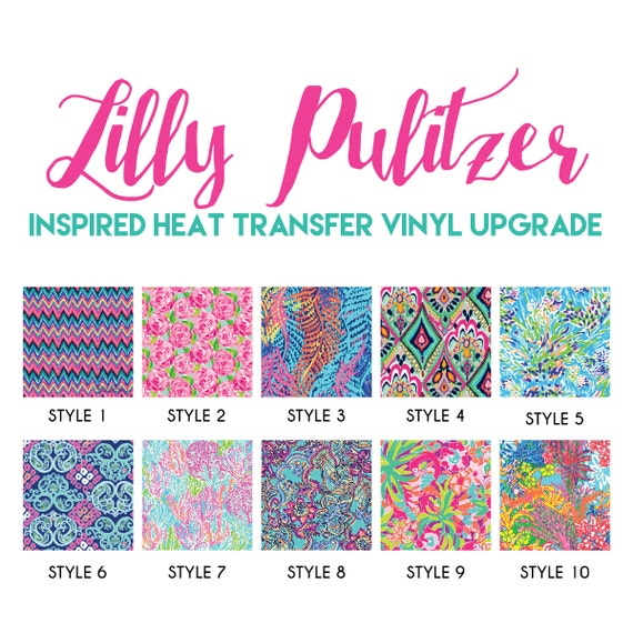 Items Similar To Lilly Pulitzer Inspired Heat Transfer