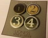 Typewriter key  magnet set