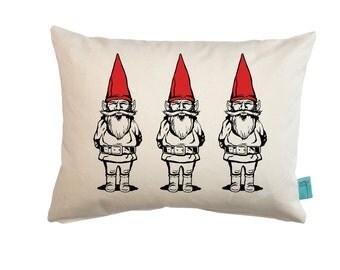 Gnome Pillow - Gnome Sweet Gnome - Garden Gnome - Throw Pillow - Nursery Pillow