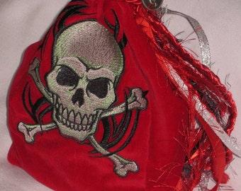 Large Tarot Bag - Skull and Crossbones
