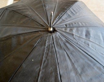 1940's Celluloid Handle Working Umbrella