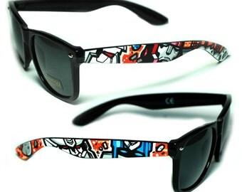 Sunglasses - Transformers- Handpainted Custom Wayfarers