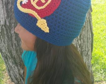 Made to Order Disney Descendants inspired beanie hat Evie Disney Villain