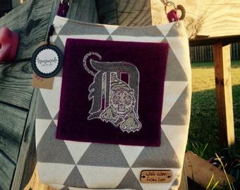 SALE* Detroit Tigers Crossbody Ramona Bag