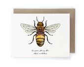 Honey Bee Card - 100% of Profits to Save the Bees