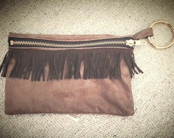 Boho festival Clutch- Clip to the Hip and GO!