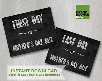 First day of MDO sign INSTANT DOWNLOAD (first day of school sign, last day of school, back to school, photo props)