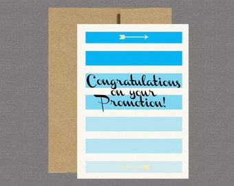Greeting Cards - Promotion, Congratulations, Congrats, Promotion, Military Promotion
