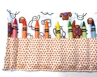 Baymax Crayon Roll