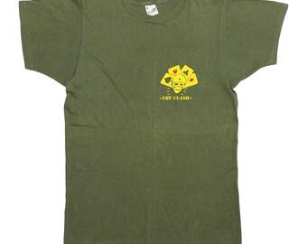The Clash Combat Rock Shirt 1982 Vintage Tshirt 1980s Mick Jones Tee Rare L 80s