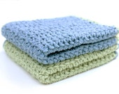 Crochet Pattern Washcloth Dishcloth- Do it yourself - Instant Download PDF