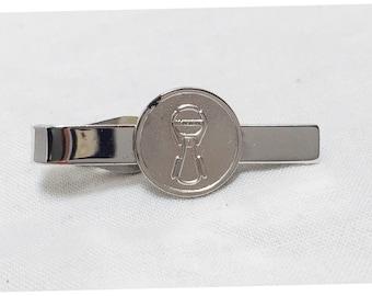 Vintage 1970s Aluminum Workers Union Tie Clip