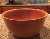 10 3/8 x 5.25 Inch Cherry Bowl by Usefulwood