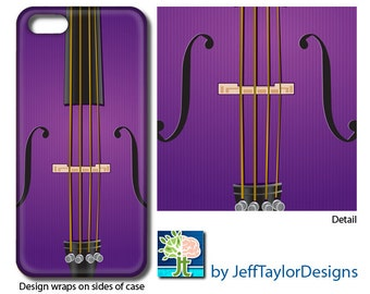 Purple Orchestra Strings Phone Case for iPhone 5/5s, iPhone 6, iPhone 7, Galaxy s4 & s5