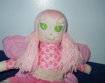 Pink Fairy Girl Doll