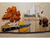 16'' Virginia personalized cutting board cutting boards wood cutting board wooden cutting board cutting board personalized engraved gifts