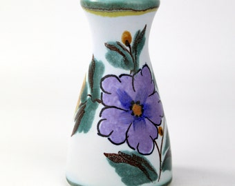 Vintage Miniature Dutch Flora Gouda Vase