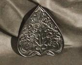 Lord Mocks Black solid Planchette (Spirit Pointer)