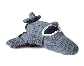 Made to order: Hand Knit Rockwell B-1 Lancer