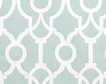 CLEARANCE Snowy Blue Backdrop Lyon 2/3 Yard Remnant. 25 Inches- Premier Prints Lyon Backdrop Snowy Home Decor - Fabric by the Yard