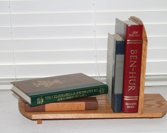 Book Rack, Handmade Oak Book Rack, Wooden Book Rack, Book Shelf, Bookrack, Oak Book Rack, Book Shelf, Book Case